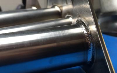 Titanium laswerk